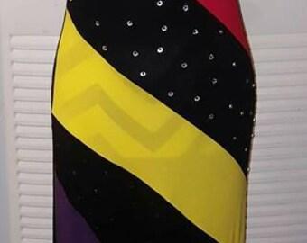 Custom blinged dresses