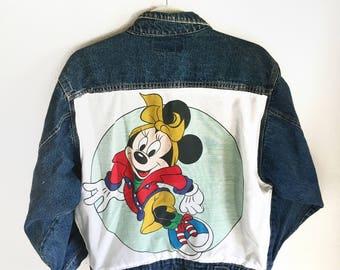 Retro Minnie Denim Jacket