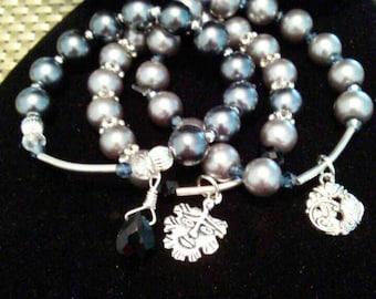 3 pc. Pearl Bracelet
