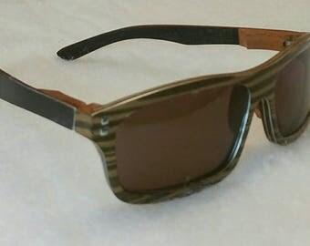 Men's Wooden Sunglasses