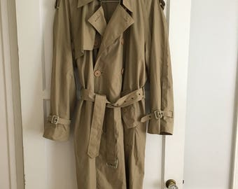 Men's YSL Trench Coat