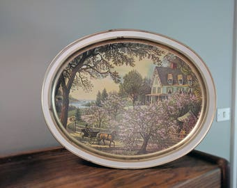 Vintage Sunshine Biscuit Tin