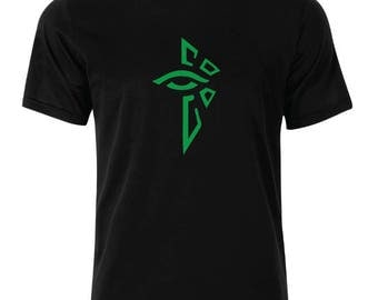 Ingress Enlightened  Logo T-Shirt - available in many sizes and colors
