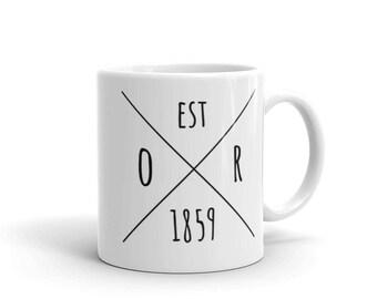 Oregon Statehood - Coffee Mug
