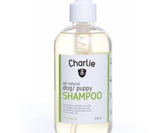 all natural dog SHAMPOO - tea tree oil