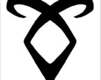 Angelic Rune Mortal Instruments tank top