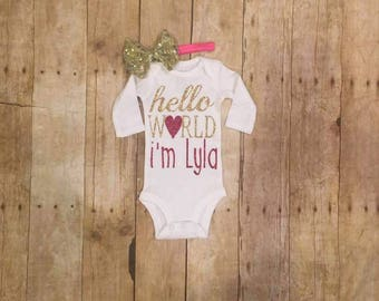 Newborn onesie
