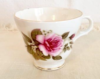 Crown Trent Rose Teacup