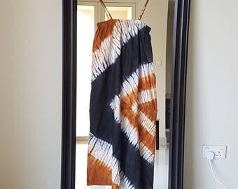 Beach Dress and skirt African Print