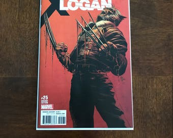 Old Man Logan 25 Marvel 2017 NM  Variant Wolverine comic