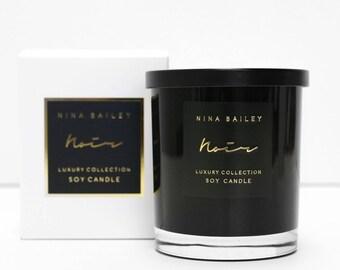 Noir Soy Candle