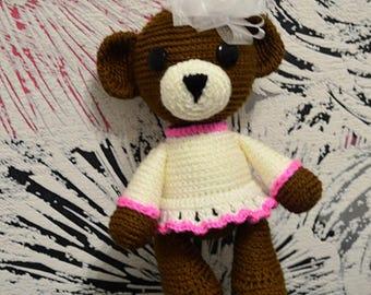Bear Girl, soft toy