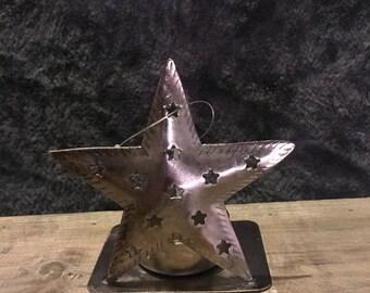Star Tea Light Holder - Chritmas - Candle Holder - Metal - Home Decor - Chritmas Ornaments - Chritmas Decorations