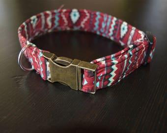 Tribal Print Fashion Collar
