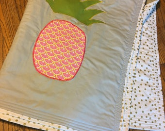 Pineapple Baby Quilt