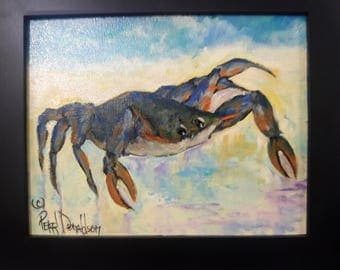 Blue Crab, on the Beach