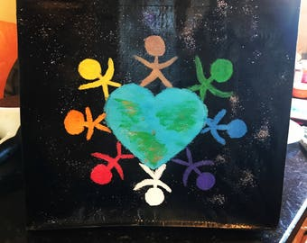 Earth United , a world surrounded by love .. A Better World by Kathuska
