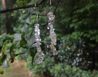 Clear Crystal Dangle Earring