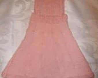 Pink sections sleeveless dress size 6 months