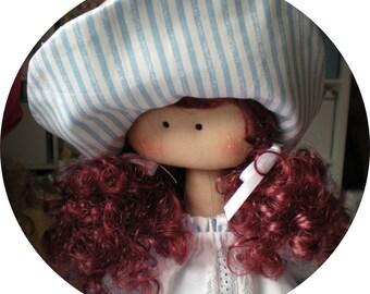 Dolls Handmade. Rag Doll. Fabric Doll