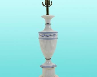 Vintage Porcelain Urn Table Lamp