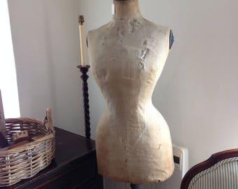 Antique wasp waist mannequin