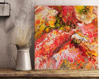 Lambda Draconi Original Abstract Painting s