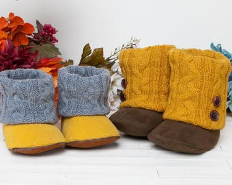 1340 Annmarie Baby Boots PDF Sewing Pattern