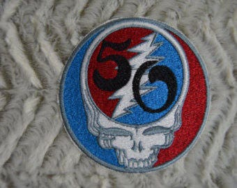 GD Steal Your Face 50th Anniversary Patch