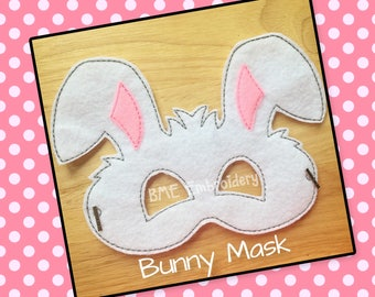 Bunny Mask-Child's Dress Up Imaginary Play-Halloween Mask-Pretend Play-Photo Prop-Birthday Party Favor-Theme Party-Child Gift