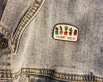 Plant Mom Pin
