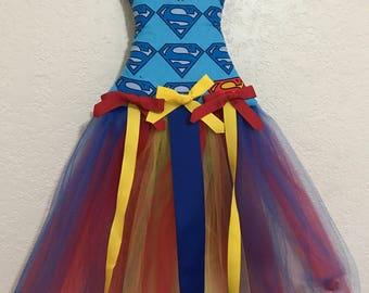 Super Girl Inspired Bow Holder