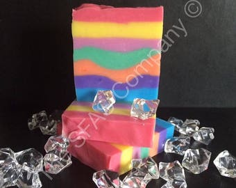 Bubblegum fragranced SLS free soap bar