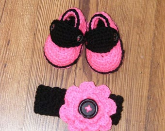 Baby Loafers & Headband Set