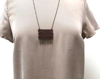 3-Bar Shimmy Necklace
