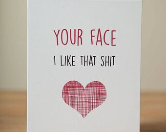 Greeting Card - Love, Valentine's Day, Just Because, Funny, Quirky, Cute