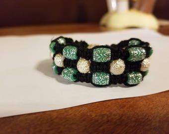 Triple shambala  bracelet