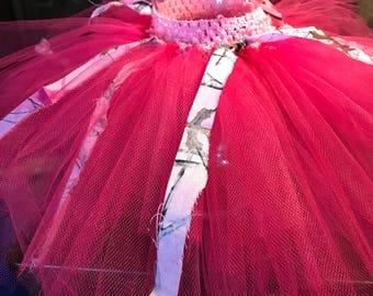 Pink Camo Tutu
