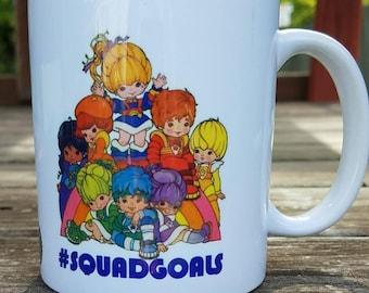 80's Rainbow Brite Inspired 11oz Ceramic Coffee Mug