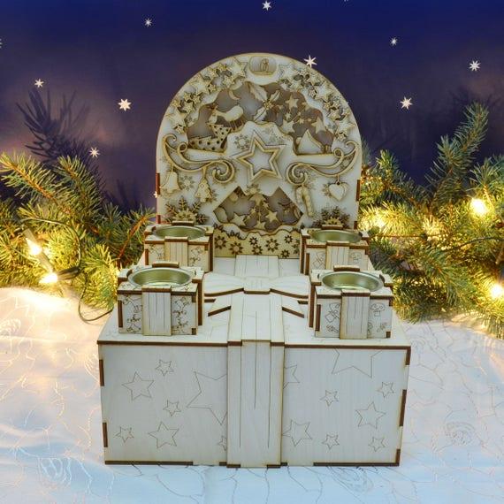 Advent calendar - Christmas wreath Kit