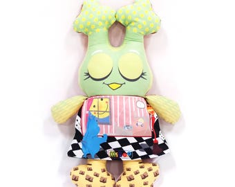 50% discount MiBoo Owl Doll 4 in 1 My Monstruitos Collection Rag Doll