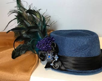 Summery 1900s styled Riding hat