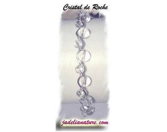 ROCK crystal, natural stones BRACELET