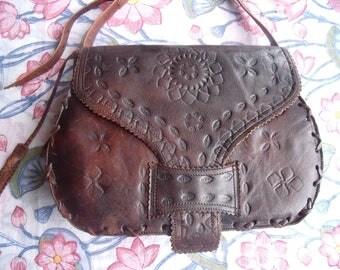 Handmade saddle bag cross body