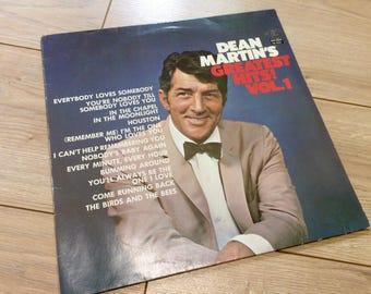 "Dean Martin-vinyl-album ""Dean Martin's Greatest Hits Vol. 1"""