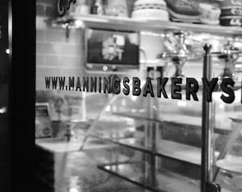 Bakery in Dublin, Ireland.