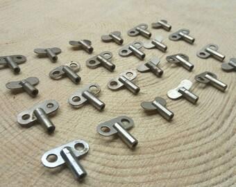 Vintage key Steampunk set of 24