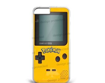 Pokemon Game Boy Color Atari 80 Retro Mario Hard Plastic Phone Case Cover For All iPhone & Samsung models