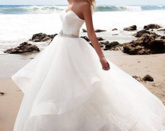 Wedding dress ballgown