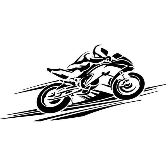 Superbe Super Bike Sports Race Speed Chopper Moto Helmet Motorbike Biker .SVG .EPS  .PNG Vector Space Clipart Digital Download Circuit Cut Cutting